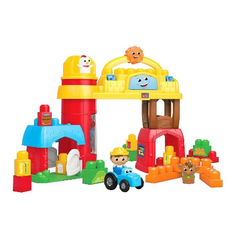 Mega Bloks® First Builders Bobby Barn Musical Farm