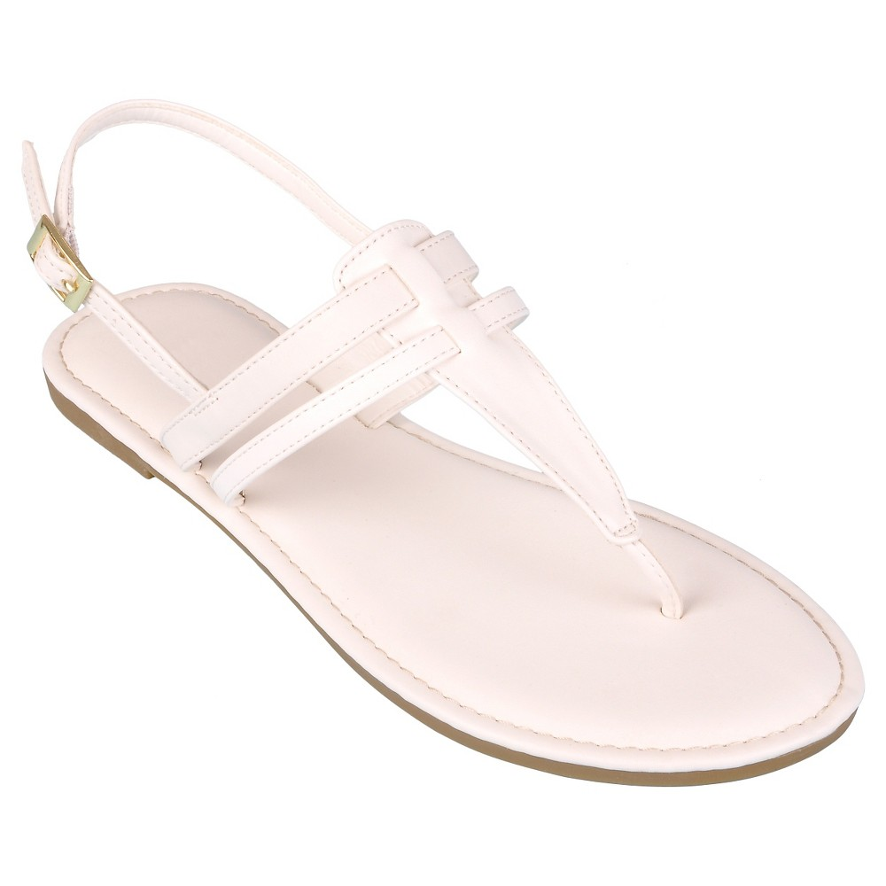 6dd592ddd87d Mossimo Supply Co. Women s Ainsley Knot Thong Sandals  15289 ...