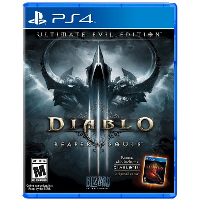 Diablo III Reaper of Souls: The Ultimate Evil Edition (PlayStation 4)