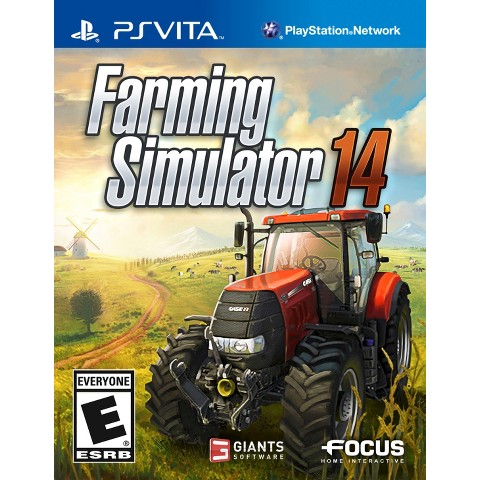 Farming Simulator 14 (PlayStation VITA)