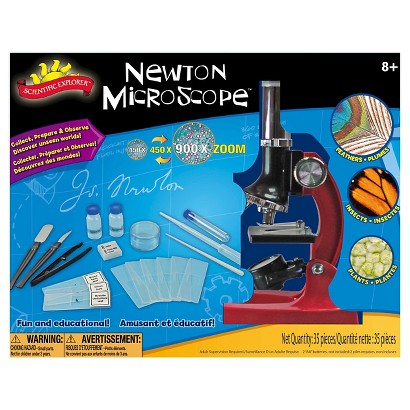 Alex Brands Scientific Explorer 0SA402BL Newton Microscope Kit