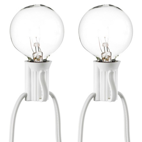 Room Essentials Heart String Lights : 25ct Clear Globe Lights - Room Essentials : Target