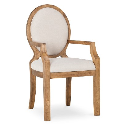 Morris Oval Back Dining Chair With Arms Target