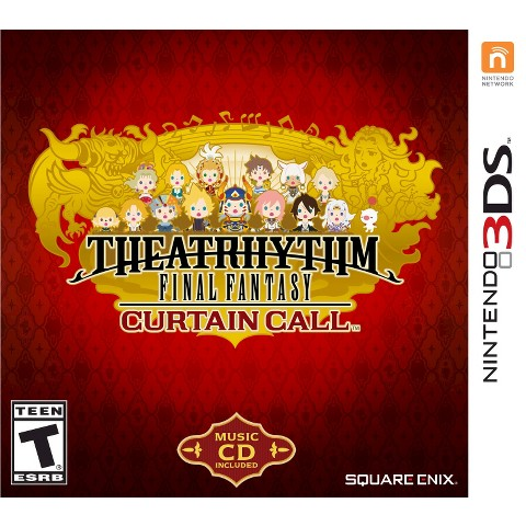 Theatrhythm Final Fantasy: Curtain Call (Nintendo 3DS)