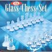 Ideal 37250BL Grandmaster Glass Chess Set