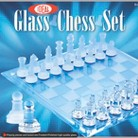 Ideal 37250BL Grandmaster Glass Chess Set