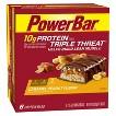 PowerBar TRIPLE THREAT Energy Carmel Peanut Fusion Nutrition Bar