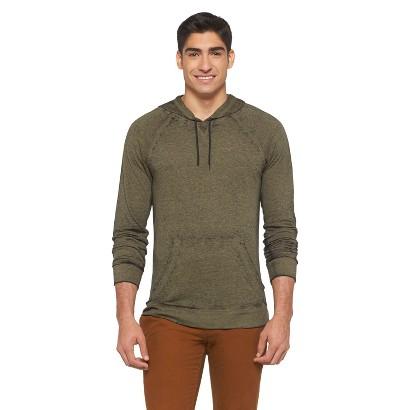 Mossimo Supply Co Men's Slim Fit Hoodie Sweatshirt dark forest XXL