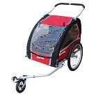 Allen Sports 2 Child Aluminum Trailer/Stroller - Multicolored (25.0 Lb)