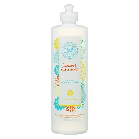 Honest Lemon Verbena Liquid Dish Soap - 16 oz.