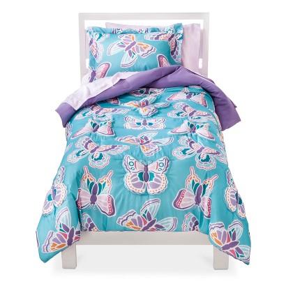 Circo Flutter Comforter Set - Blue/Purple (Twin)