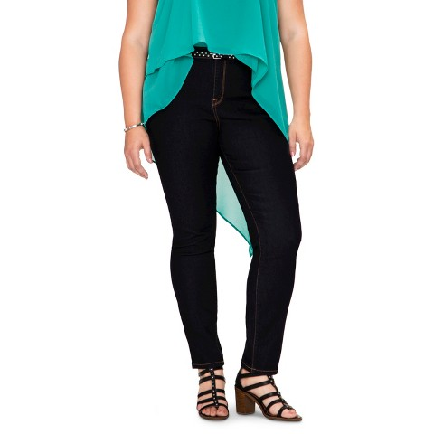 Women's Plus Size Skinny Jeans-Pure Energy