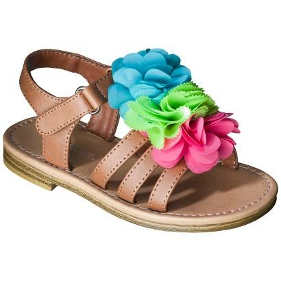 Toddler Girl's Cherokee® Joslyn Sandals - Brown