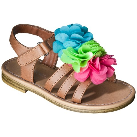 Toddler Girl's Cherokee® Joslyn Sandals - Brown