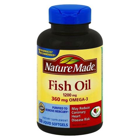 Nature Made Fish Oil 1200 mg+360 mg Omega-3 Softgels