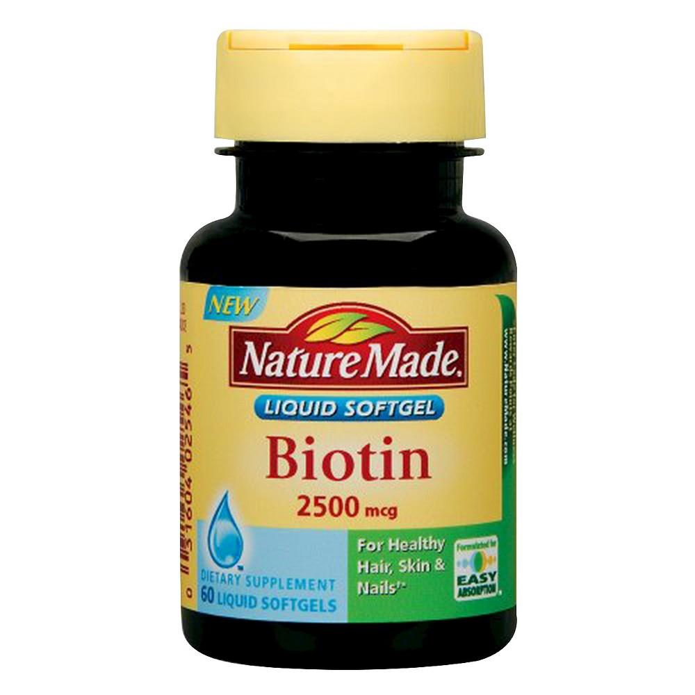 Nature Made Biotin  Mcg Reviews