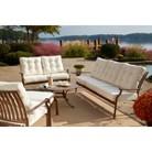 Panama Jack™ Island Breeze 6-Piece Metal Patio Conversation Furniture Set