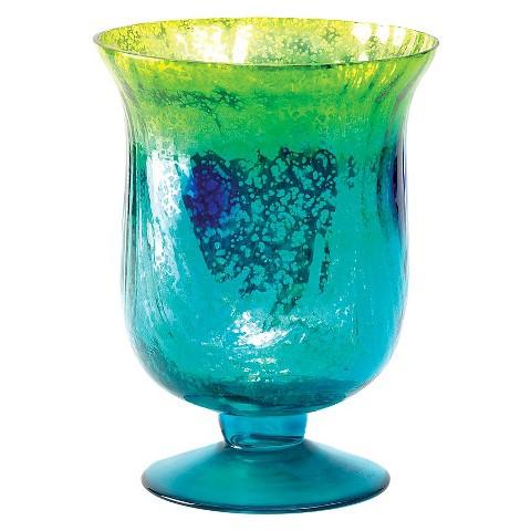 Mediterranean Splash Pedestal Candleholder