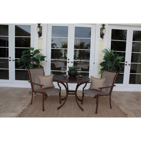 Chub Cay 3-Piece Patio Bistro Furniture Set