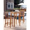Panama Jack™ Leeward Island 3-Piece Teak/Wicker Patio Bar Height Patio Furniture Set