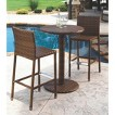 Panama Jack™ St. Barths 3-Piece Wicker Bar-Height Patio Furniture Set