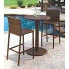 Panama Jack™ St. Barths 3-Piece Wicker Bar-Height Patio Furniture Set