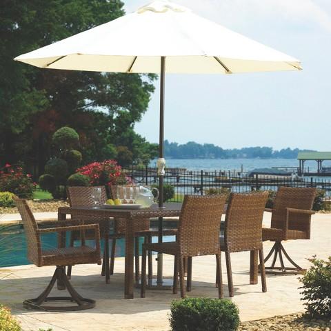 Panama Jack™ St. Barths 7-Piece Wicker Patio Dining Furniture Set