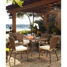 Panama Jack™ Key Biscanye 5-Piece Wicker Patio Dining Furniture Set