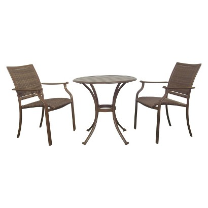 Panama Jack™ Island Cove 3-Piece Wicker Patio Bistro Furniture Set