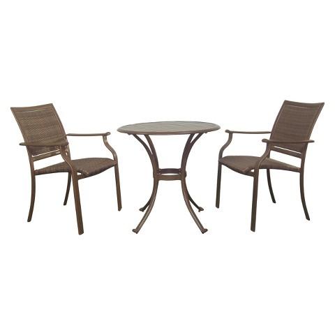 Panama Jack™ Island Cove 3-Piece Wicker Patio Furniture Set