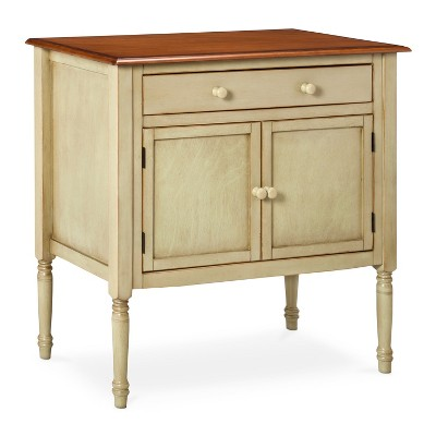 Mulberry Distressed Two Tone Buffet - Pistachio/Walnut