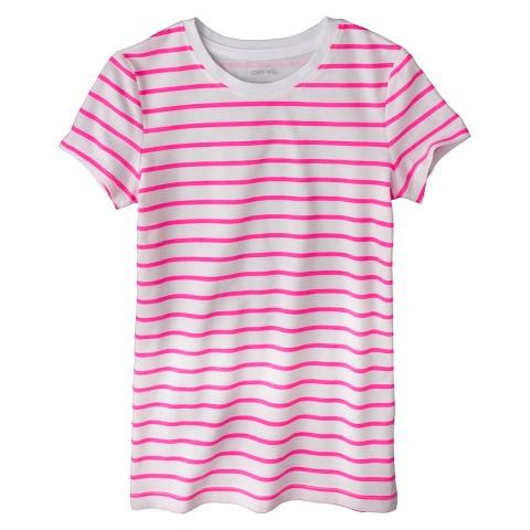 Girls' Striped Ultimate Tee