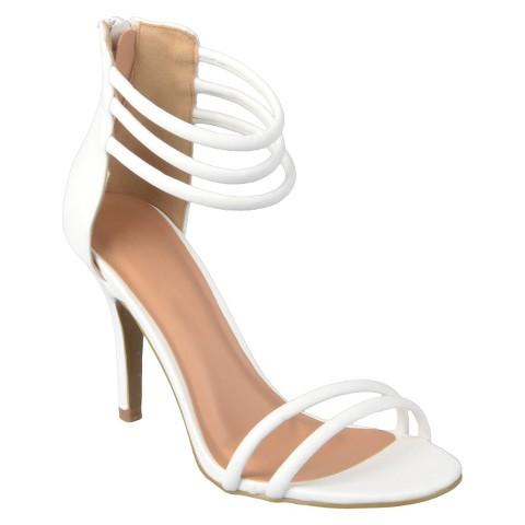 Journee Collection Women's Ankle Strap Stiletto Sandals