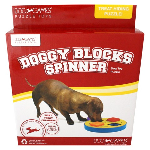 Doggy Blocks Dog Games Spinner