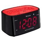 Westclox Bluetooth LED Alarm Clock Radio