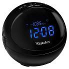 Westclox Stereo Bluetooth LED Clock Radio