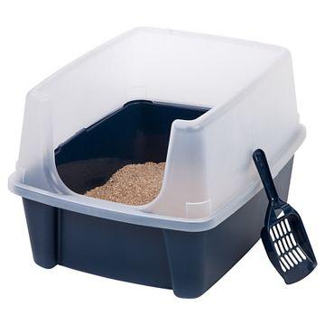 iris open top cat litter box arena kitty litter box