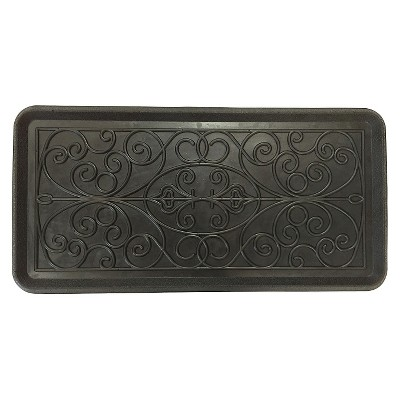 "Mohawk Rubber Scroll Boot Tray (1'2""x2'6"")"