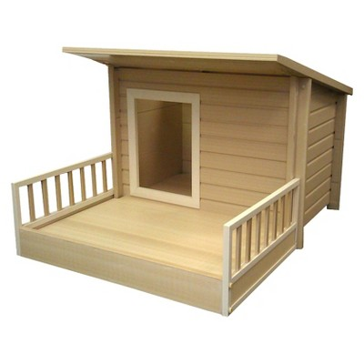 New Age Pet  Sante Fe Chalet Dog House - Beige (Large)