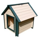 New Age Pet Bunkhouse Style Dog House - Beige (Medium)