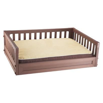 New Age Pet Habitat N' Home My Buddies Bunk Dog Bed - Russet (Medium)