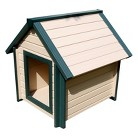 New Age Pet  Bunkhouse Style Dog House - Beige (Small)