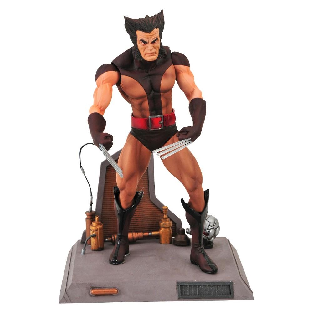 Diamond Select Toys Marvel Select Unmasked Wolverine Figure