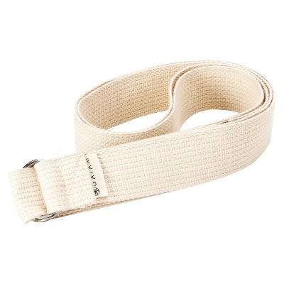 Gaiam Yoga Strap - Cream (6ft)