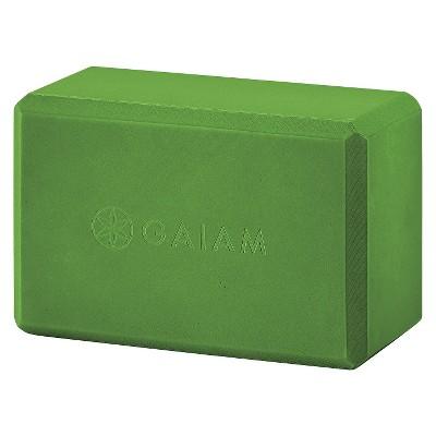 Gaiam Yoga Block - Apple Green
