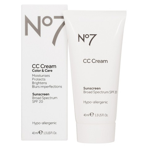 Boots No7 CC Cream