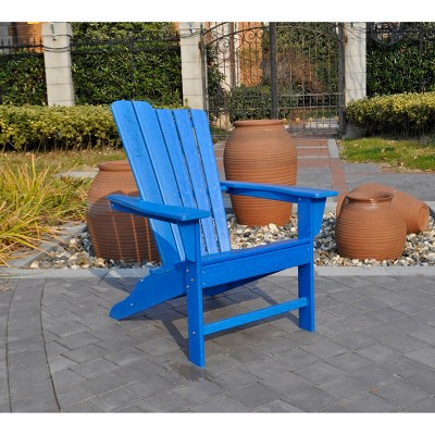 Panama Jack Polyresin Adirondack  Chair--Blue