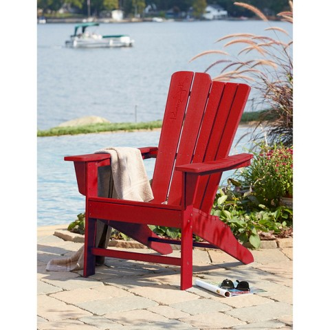 Panama Jack™ Polyresin  Patio Adirondack Chair