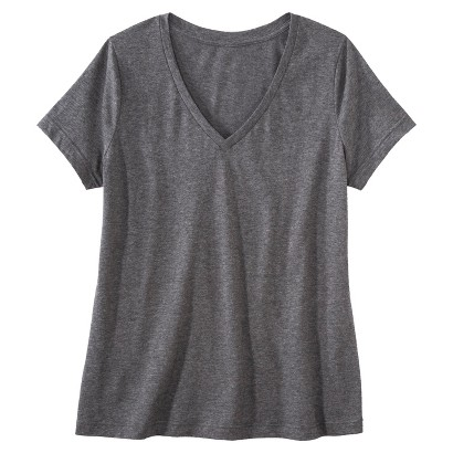 Women's Plus Size Short Sleeve V Neck Tee-Pure Energy
