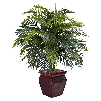 """Nearly Natural Art Plant - Palm Green (38"""")"""